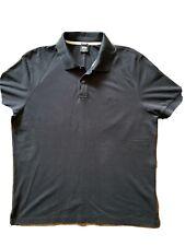 Men's BOSS Hugo Boss Polo Shirt T Shirt. Black. XXL