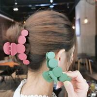 1* Women Acrylic Barrette Hair Claw For Girl Hairpin Clamps Hair Crab Clip Gifts