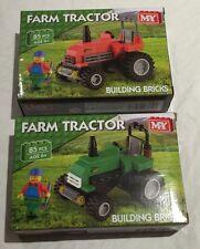 M.Y Farm Tractor Building Bricks