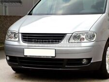 Front badgeless grill black grille without emblem for VW Caddy 2K Touran MK1