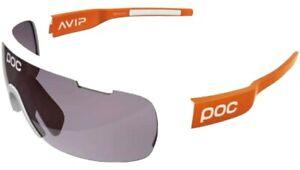 poc do blade avip glases white / orange frame