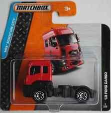 MATCHBOX -'13/2013 FORD CARGO ROSSO TRUCK autoarticolati Macchina Nuovo/Scatola Originale