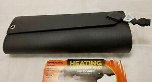 """New Snow Melting Heated Walkway Mat 120V 310 Watts 2' W x 5' L Melts 2"""" per hour"""