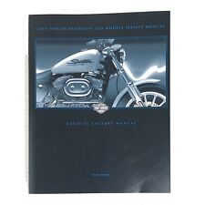 Harley Davidson 2001 XLH Sportster Models OEM Shop Service Manual 99484-01