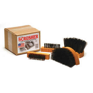 GRAINGER APPROVED SB-M1 Replacement Brush Set,Includes 4 Brushes