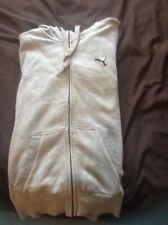 Puma Zip Up Grey Medium Hoodie