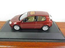SCHUCO. VW Golf. (In VW Dealer box). Dark Red Metallic. 1:43. 821930110