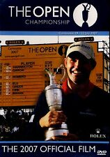 BRAND  NEW DVD // THE BRITISH OPEN // 2007 OFFICIAL FILM // TIGER WOODS