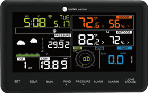 Ambient Weather WS-2902B-CONSOLE Wireless Console Only for WS-2902, WS-2902A, WS