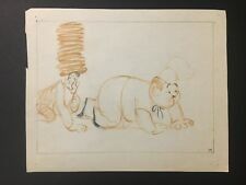 Disney Studios:  Mother Goose Goes Hollywood 1938 - Laurel and Hardy Storyboard