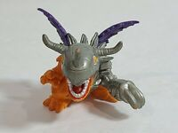 """1997 Digimon Digital Monsters 1.5"""" MetalGreymon Mini Figure Bandai"""