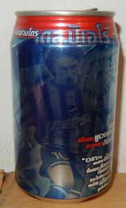 PEPSI COLA ALESSANDRO DEL PIERO Soccer Player can from THAILAND (325ml)