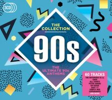 VARIOUS ARTISTS - 90's: THE COLLECTION 3CD ALBUM SET (2016)