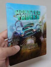 Monster Trucks 3D lenticular cover Flip effect for Steelbook