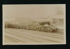 Railway GREAT WESTERN loco 3406 Melbourne at Leamington Station pre1908 RP PPC