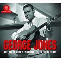GEORGE JONES - ABSOLUTELY ESSENTIAL 3CD COLLECTION USED - VERY GOOD CD