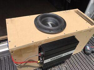 Sundown Audio Subwoofer Amp & Speaker for Car Audio