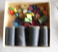 Vintage Lot of Older Wood Board Game Pieces LOOK