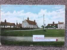 Felixstowe Ferry Boat Inn Pub Ale Village Green Channel Signpost Bawdsey Suffolk