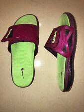 RARE Nike Air Max Lebron 2 Slide Elite Raspberry Red Sandals 578251 630 Size 12