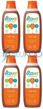 Ecover Floor Soap - 1 Litre (Pack of 4)
