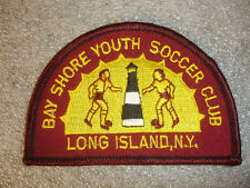 Bay Shore Youth Soccer Club Long Island N.Y Sewing Patch Lighthouse Children