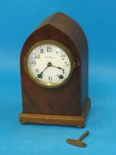 ANTIQUE SETH THOMAS  CATHEDRAL GOTHIC MANTEL CLOCK PORCELAIN DIAL* WORKING