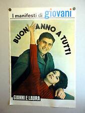 I MANIFESTI DI GIOVANI - Poster Vintage - G. MORANDI + NAZIONALE - 73x50 Cm [59]
