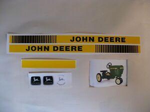 DECAL SET GEN II 40 Series John Deere Toy Pedal Tractor Computer Cut Free Ship