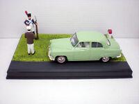 1/43 COCHE SIMCA P60 RUTA AZUL ROUTE BLEUE METAL MODEL CAR MINIATURA ESCALA IXO