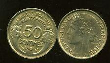 50 centimes MORLON 1931 SUP