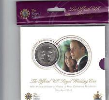 SEALED 2011 ROYAL WEDDING UNCIRCULATED £5 FLATPACK