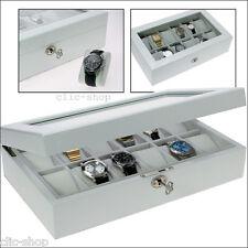 Safe Cassetta per Orologi in Bianco lucido