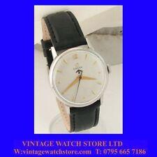 Splendido OMEGA WW2 IN Acciaio non magnetico Orologio da polso militare 1945