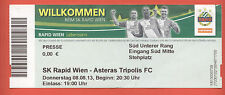 Orig.Ticket   Europa League 13/14   SK RAPID WIEN - ASTERAS TRIPOLIS FC !!