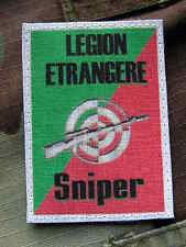 Patch écusson...:: SNIPER LEGION ETRANGERE ::...  FRF1 ghillie Airsoft TIR REP