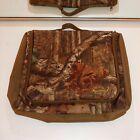 vintage fieldline pro small utility bag camo print laptop bag camouflage hunting