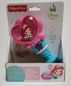 BRAND NEW Fisher-Price Disney Baby Princess Magical Music Maker Ariel6-36 Months