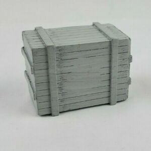 1/64th DCP gray resin box crate load