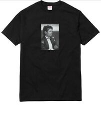 Supreme Michael Jackson Tee T-shirt Black Size Small S/S17 New MJ Tshirt Photo