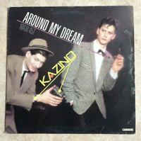 MAXI 45 tours KAZINO Vinyle AROUND MY DREAM - CARRERE 8488 Frais Reduit