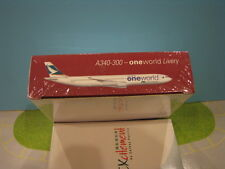 HERPA MODEL CATHAY PACIFIC A340-300 1:500 SCALE DIECAST METAL MODEL