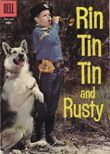 RIN TIN TIN AND RUSTY #18 (1957) VF+ 8.5  LEE AAKER PHOTO COVER