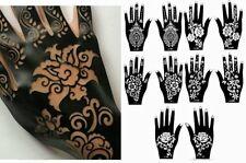 Henna Stencil Tattoo (10 Sheets) Self-Adhesive Beautiful Body Art Templates