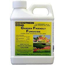 Garden Friendly Fungicide OMRI 16 Oz Organic Vegetable Plants Fruit Lawns ++