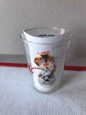 1968 World Series Champions Detroit Tigers Press Box Plastic Glass Cup