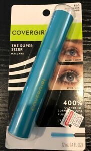 COVERGIRL The Super Sizer Mascara-Very Black #800 New Sealed
