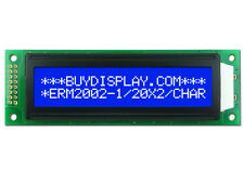 5V Blue 20x2 Character LCD Module Display w/Tutorial,HD44780,White Backlight