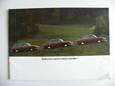Catalogue - brochure Volkswagen VW 1600 de 08 /1968