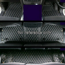 For Nissan Patrol Y62 7 seats 2010-2019 RHD Leather Car Floor Mat Pad Liners